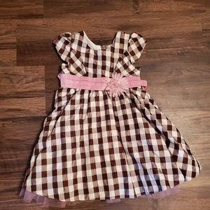 Kids plaid dress size 5